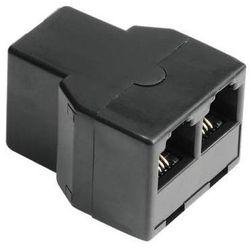 Rozgałęźnik telefoniczny 6p4c GN. - 2x6p4c GN., kup u jednego z partnerów