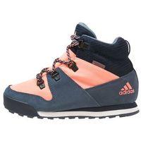 adidas Performance CW SNOWPITCH Buty trekkingowe tech ink/sun glow/collegiate navy, kolor niebieski