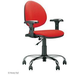 Krzesło obrotowe smart r3d steel01 chrome marki Nowy styl