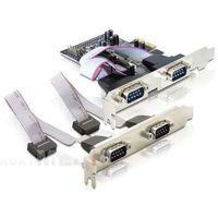 KARTA PCI EXPRESS->COM 9PIN X4 DELOCK