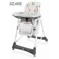 bambi krzesełko do karmienia szare 07 wysyłka 24h marki Baby design