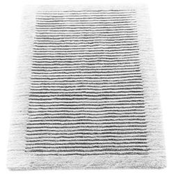 Cawo Dywanik łazienkowy  ręcznie tkany 120 x 70 cm biały