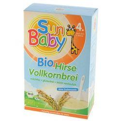 4 mc KASZKA JAGLANA BEZGLUTENOWA BIO 250 g - SUN BABY z kategorii Kaszki i kleiki dla dzieci