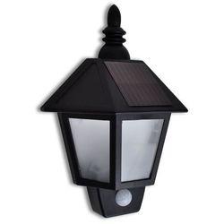 vidaXL Ścienna lampa solarna z sensorem ruchu (8718475877349)
