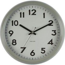 Zegar ścienny badge szary marki Karlsson