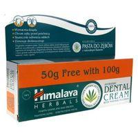 Himalaya pasta do zębów z naturalnym fluorem 100ml + 50ml gratis marki Himalaya, indie