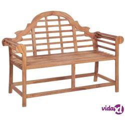 vidaXL Ławka ogrodowa, 136x63x102 cm, lite drewno tekowe (8718475707899)