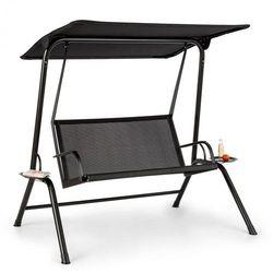 bel air mono swing, huśtawka typu hollywood, rama stalowa, mono relax, czarny marki Blumfeldt