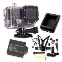 Kamera GitUp Git2 PRO + zestaw 9w1 + bateria + ładowarka