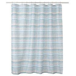 Cooke&lewis Zasłonka prysznicowa amariada 180 x 200 cm niebieska (3663602966296)