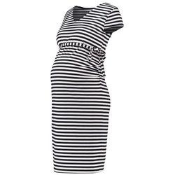 MAMALICIOUS MLBLACKIE Sukienka z dżerseju black z kategorii Sukienki ciążowe