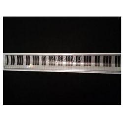 Zebra Music Opaska odblaskowa samozaciskowa z motywem klawiatury fortepianu z kategorii Gadżety