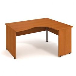 Stół ergo lewy, 1600 x 1200 x 755 mm, czereśnia