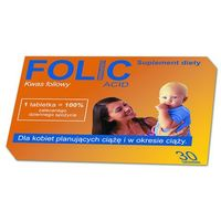 FOLIC 30 tabletek (artykuł z kategorii Suplementy ciążowe)