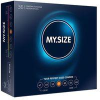 My size Dopasowane prezerwatywy -  natural latex condom 57mm 36szt
