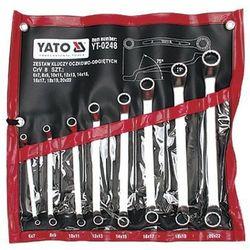 Zestaw kluczy oczkowych YATO YT-0248 6 - 22 mm odgięte (8 elementów)