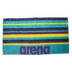 Arena ręcznik duży beach multistripes towel mint-multi 170x90 cm