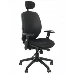 Stema - kb Fotel biurowy obrotowy kb-912/a/czarny - krzesło obrotowe biurowe