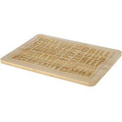 Prostokątna deska do krojenia, bambusowa, 40x30 cm marki Eh excellent houseware
