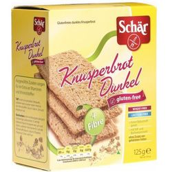 Ciemne Pieczywo Chrupkie Knusperbrot Dunkel 125g Schar - sprawdź w wybranym sklepie