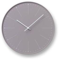 Lemnos Zegar ścienny dandelion szarobrązowy