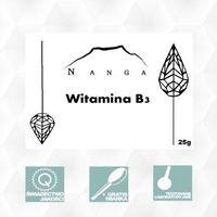 Witamina B3 NIACYNA 25g Nikotynamid Magiczne Ogrody