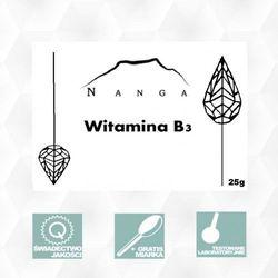 Witamina B3 NIACYNA 25g Nikotynamid Magiczne Ogrody (Witaminy i minerały)