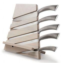 Zestaw 5 noży w bloku Bugatti Trattoria naturalny