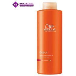 Wella Enrich Fine Odżywka Nawilżająca do Cienkich Włosów (fine) - 1000 ml, towar z kategorii: Odżywianie włosów
