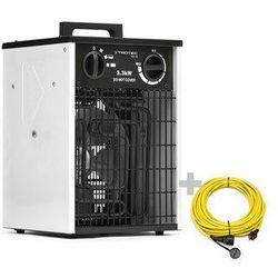 Nagrzewnica elektryczna TDS 20 biała + Przedłużacz Profi 20 m / 230 V / 2,5 mm²