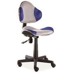 Fotel obrotowy młodzieżowy q-g2 szary/kolory marki Signal
