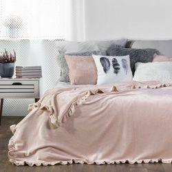 Koc narzuta DOLLY 150x200 EUROFIRANY różowy
