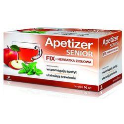 Apetizer Senior FIX 20 sasz., produkt z kategorii- Homeopatia