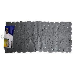 Mata łazienkowa Stones srebrna 75 x 37 cm