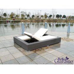 Bello giardino Technorattanowe łóżko ogrodowe umile szare (5906874676387)
