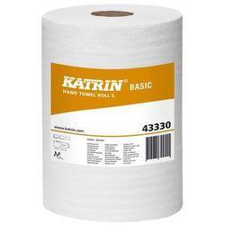 Katrin ręcznik basic s, w roli, 1-warstwa, naturalny biały 180 mm x 100 m