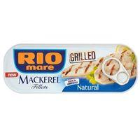 120g grillowane filety makreli w sosie własnym | darmowa dostawa od 150 zł!, marki Rio mare