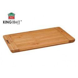 Deska do krojenia 33 x 23cm bambusowa  [kh-1140] marki Kinghoff