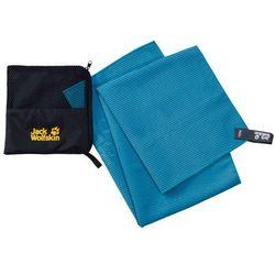 Jack wolfskin Ręcznik szybkoschnący great barrier towel m turquoise - one size (4060477108346)
