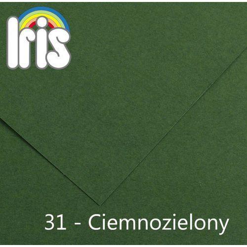 Brystol  Iris B1/240g ciemny zielony 25ark., produkt marki Canson