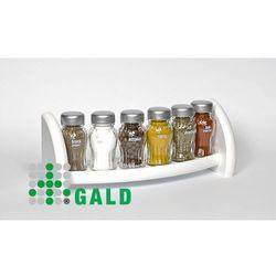Gald półka z przyprawami 6-el biały mat 5904006098892