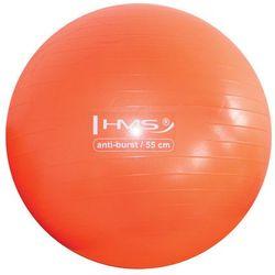 Piłka gimnastyczna Anti-Burst YB02 55 cm pomarańczowa - HMS