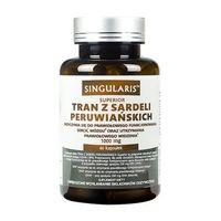 TRAN Z SARDELI PERUWIAŃSKICH 60 kaps SINGULARIS Superior