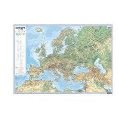 EUROPA Mapa Fizyczno-Polityczna Ścienna Skala 1: 10 000 000 (mapa szkolna)
