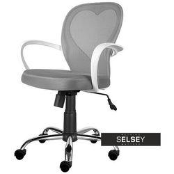 Selsey fotel biurowy mia szary