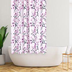 4Home Zasłona prysznicowa Sakura, 178 x 183 cm (8596175015076)