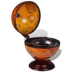 globobar do postawienia na stół, drewniany marki Vidaxl