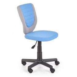 Fotel dziecięcy obrotowy Neptun - niebieski + popiel