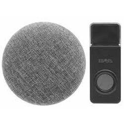 Zamel sp. z o.o. Dzwonek bezprzewodowy sieciowy z możliwością wgrywania dźwięków oval typ st-990 sun10000478 (5903669457459)