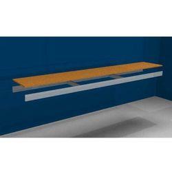 Dodatkowa półka, z trawersami i płytą wiórową, szer. x gł. 2500 (2x1250 mm) x 40 marki Julius vom hofe
